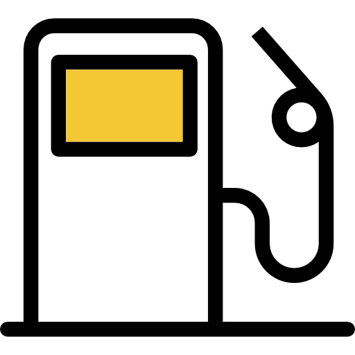 aircraft fuel icon